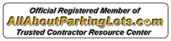 denver paving parking lots logo