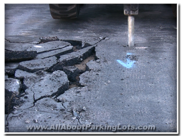 asphalt repair - asphalt patching