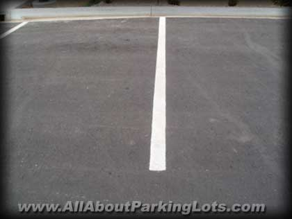 Parking lot striping done right!