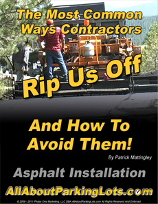 asphalt paving scams eBook cover