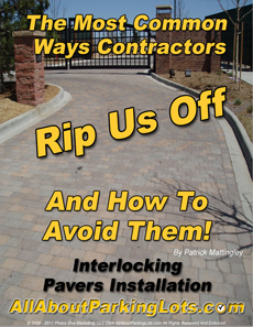 concrete paver installation scams eBook cover