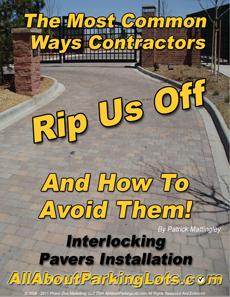 concrete paver installation scams eBook cover