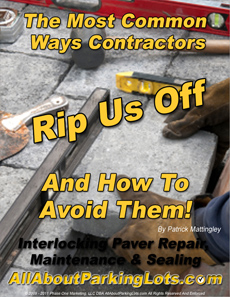 concrete paver sealing scams eBook cover