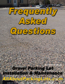 gravel maintenance frequently asked questions
