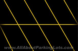 parking lot striping layout